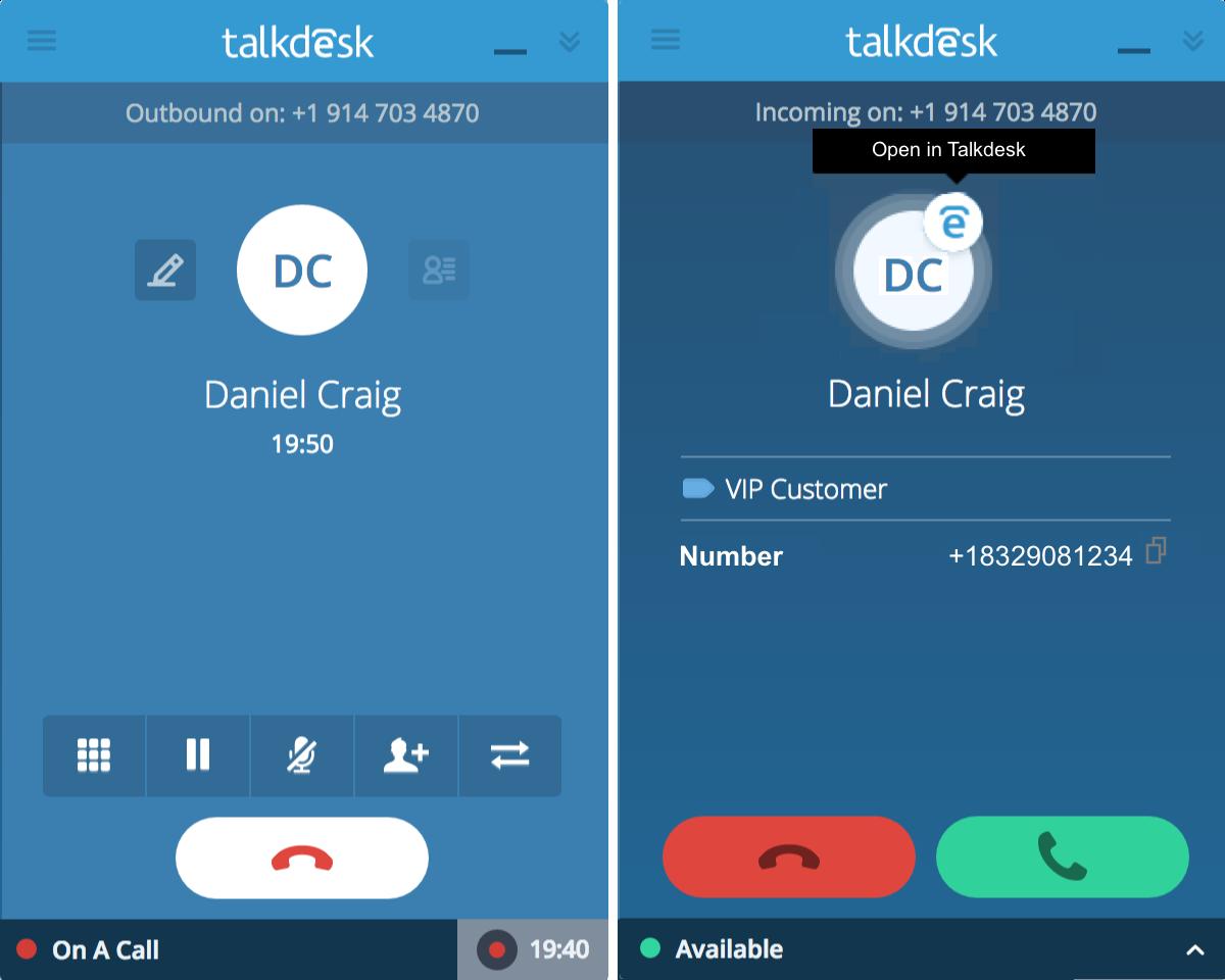 Using Callbar – Talkdesk Support